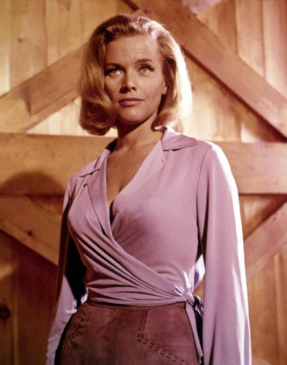 <p>Perhaps the most offensive name of the series, the character was based on Blanche Blackwell, who was considered to be Bond creator Ian Fleming's greatest love. Thankfully her high IQ and awesome power suits made up for it. <i>(Photo: Everett Collection)</i><br></p>