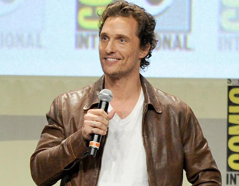 Matthew McConaughey Comic-Con 2014 Interstellar