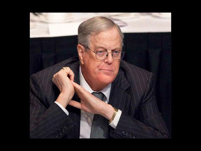 <b>9. David Koch</b><br> He is tall and makes sure he wears clothes that fit him in the most astute manner. One glance at him walking down the street and you know you are looking at a billionaire.