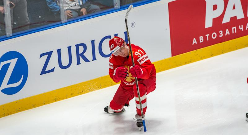 While he has yet to play a game in the NHL, Nikita Gusev has been a consistent star in the KHL for the last half-decade. (Photo by RvS.Media/Robert Hradil/Getty Images)