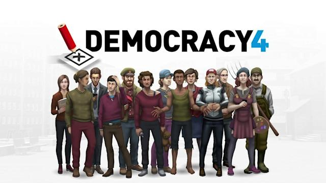 Embrace the weird career of a politician in engrossing government sim  'Democracy 4'