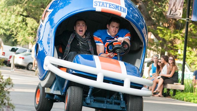 Jonah Hill and Channing Tatum in '22 Jump Street'