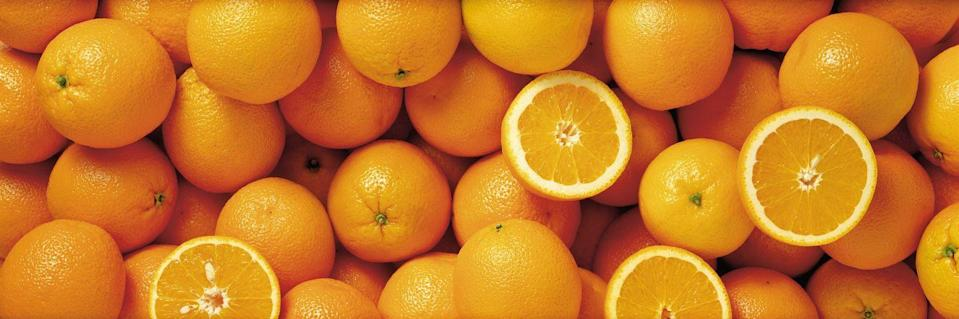 <p>Yes, even super-sweet oranges have their place in a healthy diet when you have diabetes, says Khan. The 3 g of fiber and 51 mg of vitamin C in one medium orange help lower your risk of chronic disease.</p><p><em>1 serving = 1 medium orange</em></p>