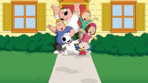 <p><strong><em>Family Guy</em><br><br></strong>The fictional city of Quahog is home to the animated Griffin family on this long-running cartoon. </p>