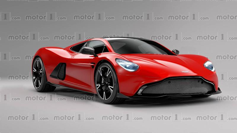 2020 Aston Martin Mid Engined Sports Car