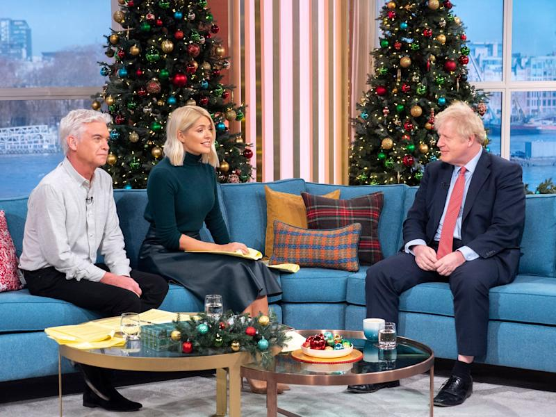 Johnson was interviewed on the ITV daytime show on Thursday (Photo: Ken McKay/ITV/Shutterstock)