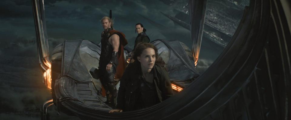 "<p>Although the nitty-gritty details of Thor's fourth installment haven't been disclosed, we know that <a class=""link rapid-noclick-resp"" href=""https://www.popsugar.co.uk/Natalie-Portman"" rel=""nofollow noopener"" target=""_blank"" data-ylk=""slk:Natalie Portman"">Natalie Portman</a> will return as Jane Foster <em>and</em> wield Thor's hammer herself as the goddess of Thunder. This will make her the <a href=""https://www.popsugar.com/entertainment/Natalie-Portman-Playing-Female-Thor-Thor-4-46402393"" class=""link rapid-noclick-resp"" rel=""nofollow noopener"" target=""_blank"" data-ylk=""slk:first-ever onscreen female Thor"">first-ever onscreen female Thor</a>, which is a pretty big freakin' deal. </p> <p><strong>Release date:</strong> May 6, 2022</p>"