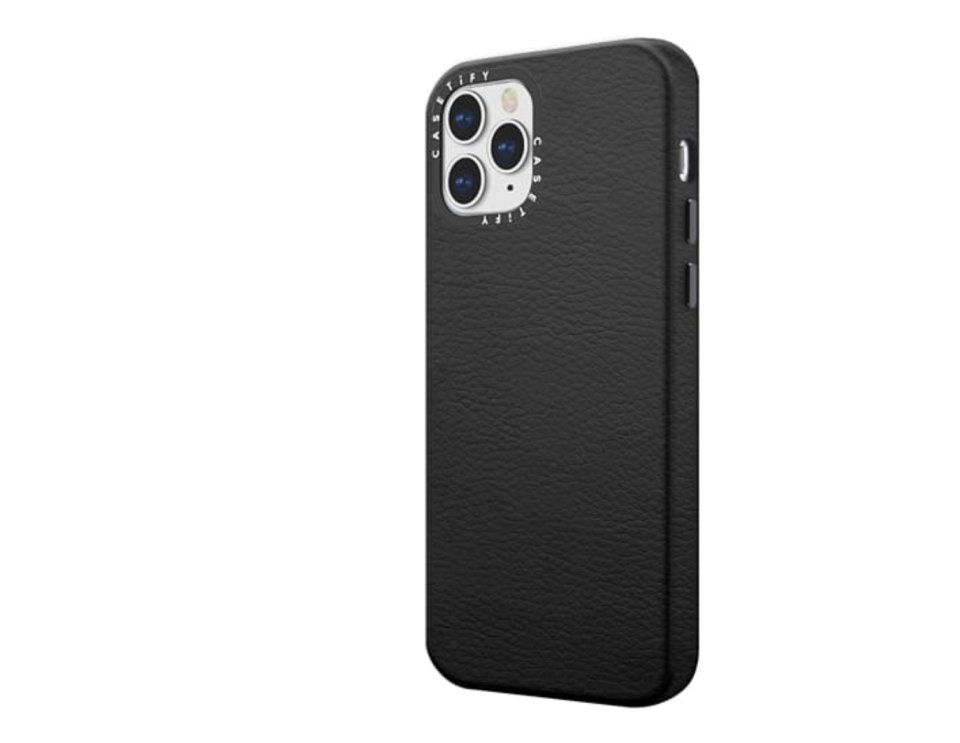 Casetify iPhone 12 leather case. (PHOTO: Casetify)