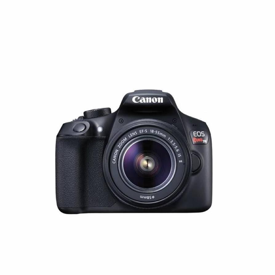 "Isolation is encouraging people to get started on creative endeavors they've been curious about, and this DSLR from Cannon is a great starter camera for the budding photographer. $399, Adorama. <a href=""https://www.adorama.com/icat6k.html"" rel=""nofollow noopener"" target=""_blank"" data-ylk=""slk:Get it now!"" class=""link rapid-noclick-resp"">Get it now!</a>"