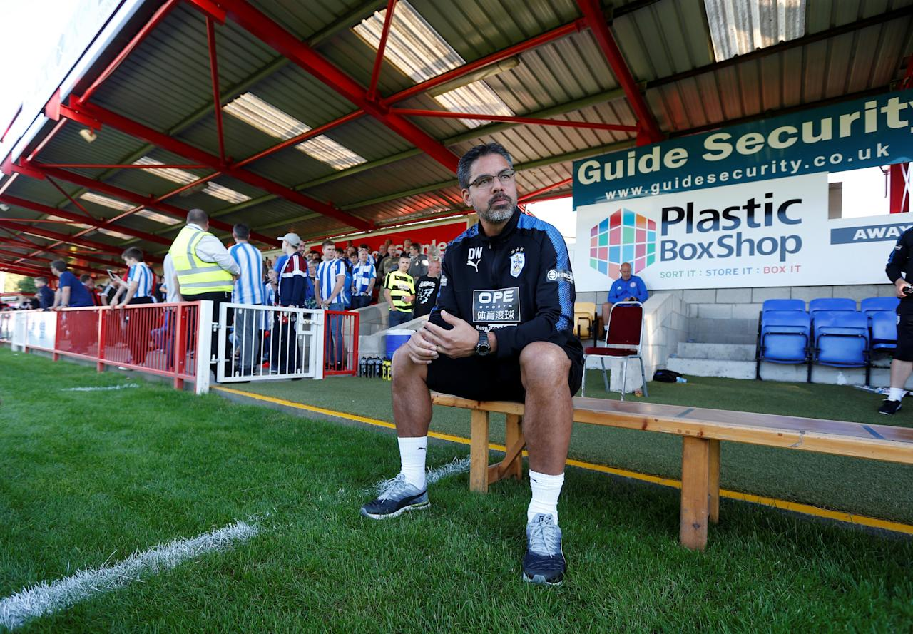 Football Soccer - Accrington Stanley vs Huddersfield Town - Pre Season Friendly - Accrington, Britain - July 12, 2017   Huddersfield Town manager David Wagner   Action Images via Reuters/Ed Sykes