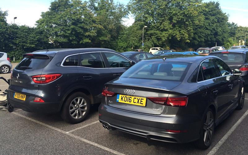Audi A3 Saloon and Renault Kadjar