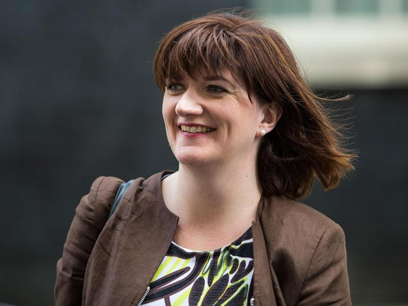Nicky Morgan was replaced by Ms May in July last year: Getty Images