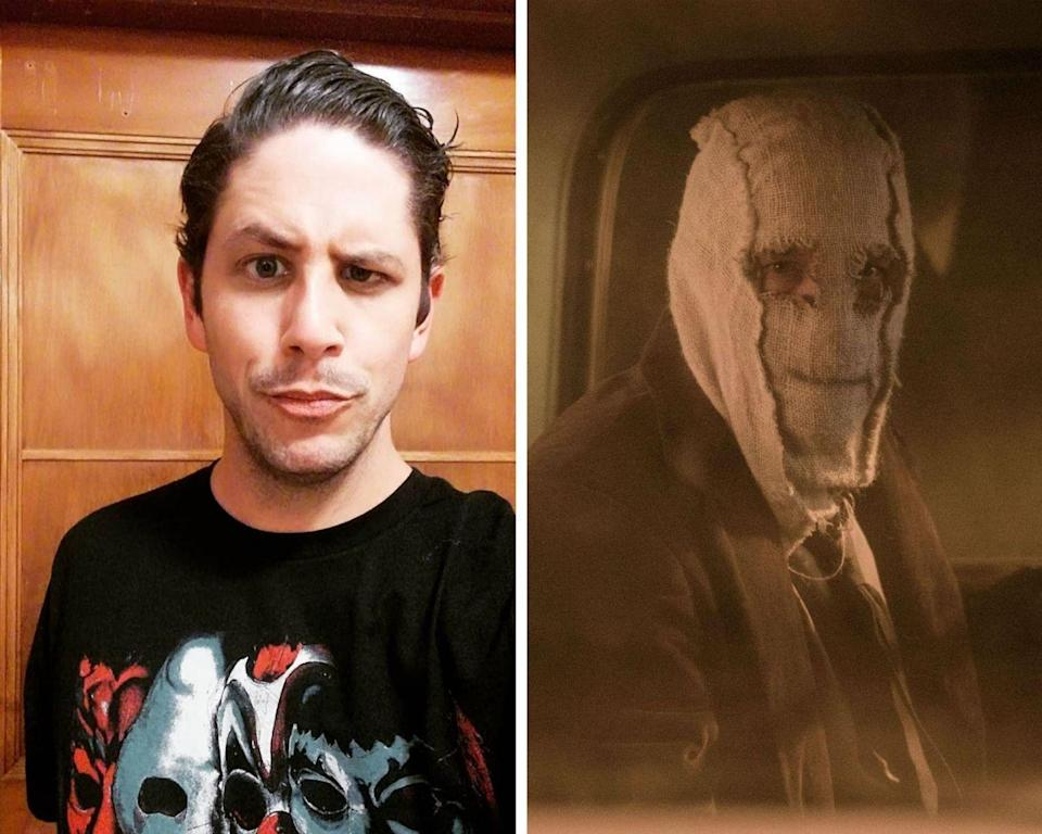 """<p>The premise for both of <em>The Strangers</em> movies is eerie because masked home invasions could <em>actually</em> happen. And one of the scariest characters in <em>The Strangers</em> saga is the Man in the Mask. In the 2018 sequel, the character was portrayed by actor Damian Maffei. Since starring in the slasher flick, the actor has added quite a few horror credits to his name, including appearances in <em>Haunt</em> and the upcoming <em>Wrong Turn </em>reboot. </p><p><strong>Related: <a href=""""https://www.cosmopolitan.com/entertainment/movies/g33422161/movie-sequels-coming-soon/"""" rel=""""nofollow noopener"""" target=""""_blank"""" data-ylk=""""slk:50 Movies Sequels Coming Soon"""" class=""""link rapid-noclick-resp"""">50 Movies Sequels Coming Soon</a></strong> </p>"""
