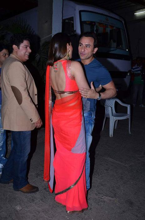 Spotted : Kareena and Saif