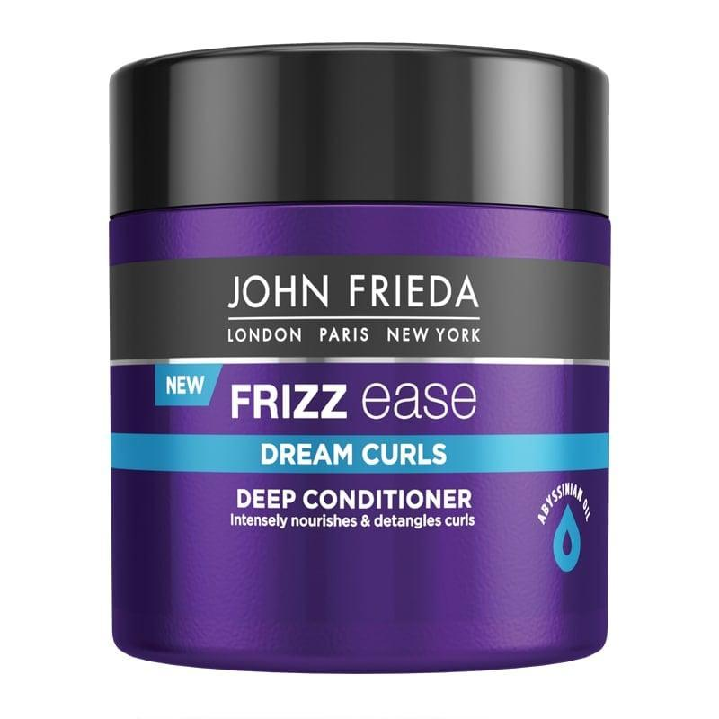 <p>The <span>John Frieda Frizz Ease Dream Curls Deep Conditioner</span> ($15) is an inexpensive mask that boasts four-and-a-half stars on 3,430 customer reviews - now that's impressive. The mask is infused with abyssinian oil, giving it a lightweight and non-greasy texture, which after just three-to-five minutes replenishes and hydrates curls.</p>