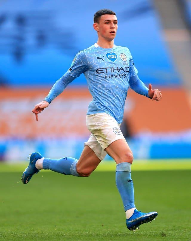 Star player Phil Foden was not even born when City played in that 1999 play-off final