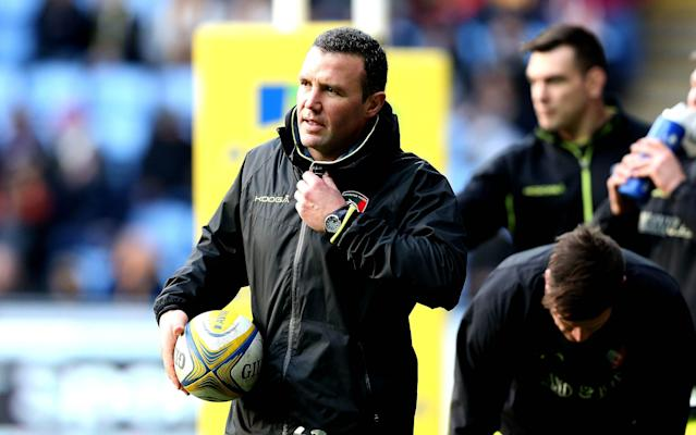 <span>Aaron Mauger will leave Leicester this weekend</span> <span>Credit: rex </span>