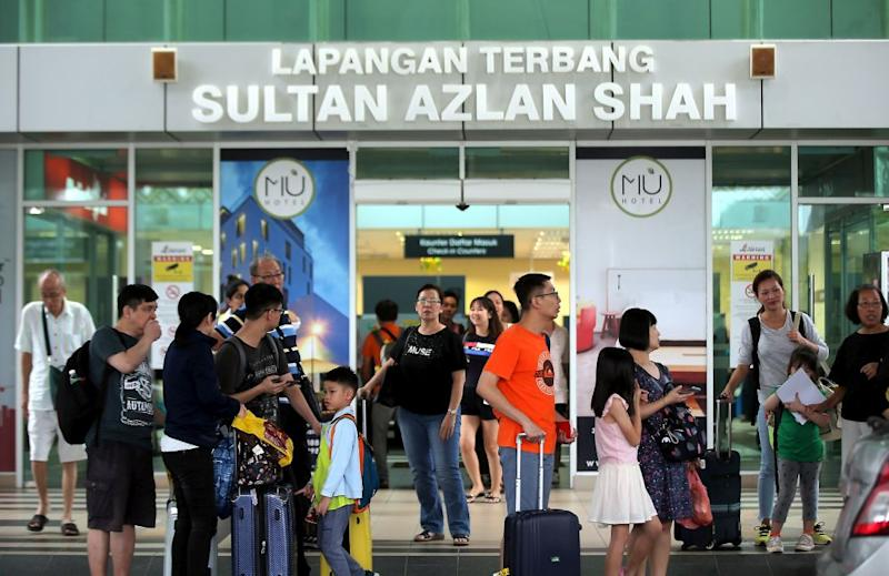 Sultan Azlan Shah Airport manager Mohd Ali Osman said flights resumed at 12.20pm, though three morning flights were cancelled. — Pictures by Farhan Najib