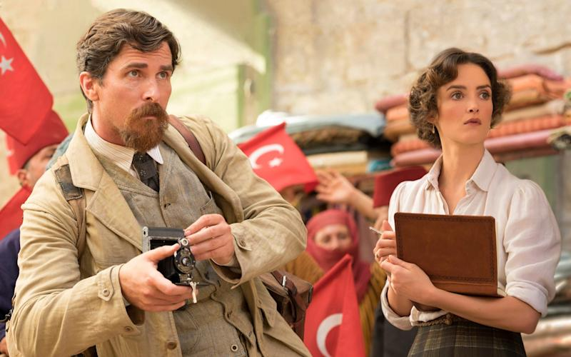 Christian Bale stars in The Promise and has spoken out against denial of the Armenian genocide - Open Road Films