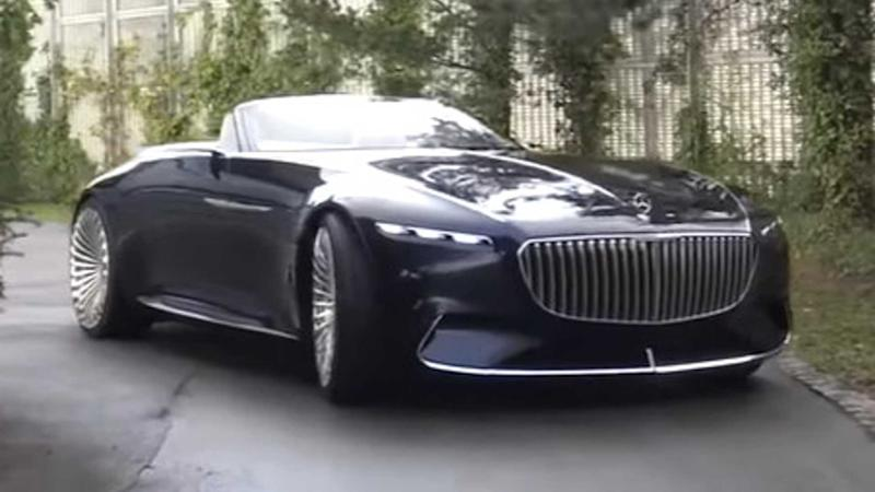 Vision Mercedes-Maybach 6 Cabriolet video thumb