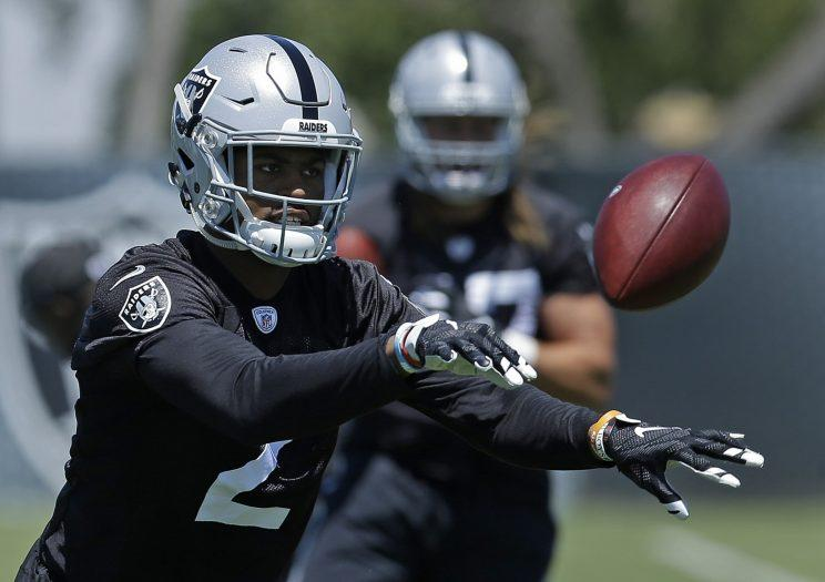Raiders cornerback Gareon Conley will not face charges after he was accused of rape. (AP)