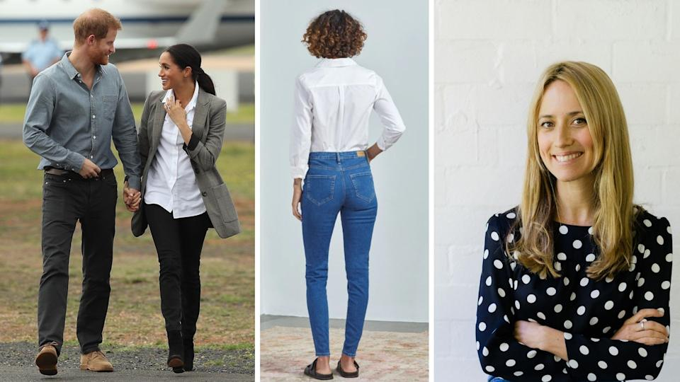 The Erica Bartle-founded Outland Denim has some famous fans. Images: Getty
