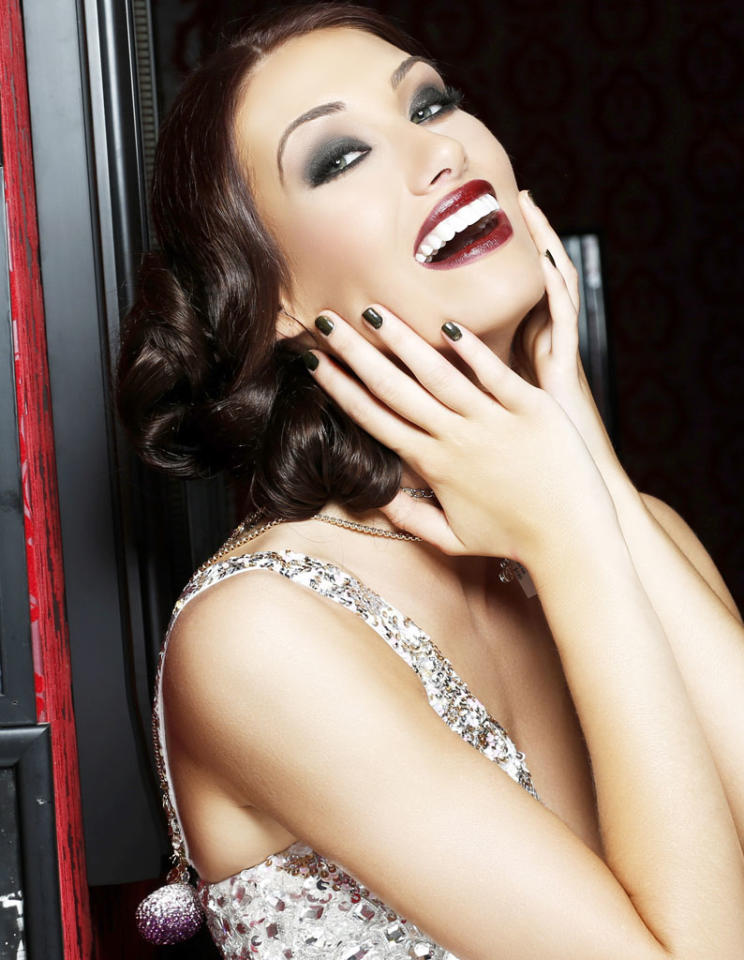 Miss Missouri USA 2013, Ellie Holtman, poses for fashion photographer Fadil Berisha in a 1920's Great Gatsby inspired wardrobe by Sherri Hill at the Planet Hollywood Resort and Casino, in Las Vegas Nevada.  Tune in to the crowning moment LIVE on NBC starting at 9:00 PM ET on June 16, 2013 from PH Live.