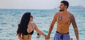 Krishna Shroff grabs eyeballs in a black bikini and tattoos on vacay with BF Eban Hayms