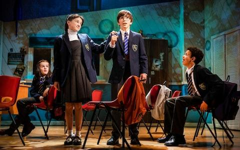 The Secret Diary Of Adrian Mole Aged 13 ¾ at the Ambassadors Theatre - Credit: Pamela Raith