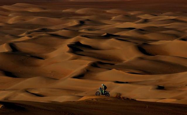 FILE PHOTO: Dakar Rally