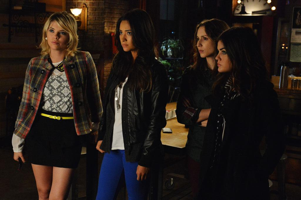"""Hot Water"" - Tensions rise to the boiling point for Aria, Emily, Hanna and Spencer, in ""Hot Water,"" an all new episode of ABC Family's hit original series ""Pretty Little Liars."""