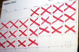 dont break the chain How to turn resolutions into habits