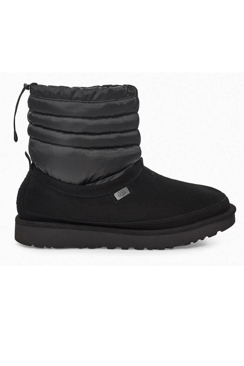"""<p><strong>UGG</strong></p><p>ugg.com</p><p><strong>$275.00</strong></p><p><a href=""""https://go.redirectingat.com?id=74968X1596630&url=https%3A%2F%2Fwww.ugg.com%2Fstampd%2Fugg-x-stampd-tech-tasman%2F1119193.html%3Fdwvar_1119193_color%3DVRGR%23start%3D4%26cgid%3Dstampd&sref=https%3A%2F%2Fwww.marieclaire.com%2Ffashion%2Fg3388%2Fsnow-boots-for-women%2F"""" rel=""""nofollow noopener"""" target=""""_blank"""" data-ylk=""""slk:SHOP IT"""" class=""""link rapid-noclick-resp"""">SHOP IT</a></p><p>What's special about this snow boot is its three-in-one wearability. (The boot includes a removable liner that can be worn with the shoe or separately as a house slipper!) The water-repellent footwear is made with suede and durable ripstop nylon while being lined with """"UGGplush wool blend."""" Say yes to adding this to your cart.</p>"""