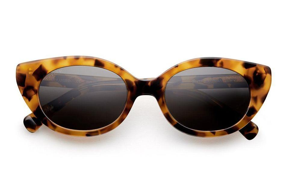 """<p><strong>Féroce Eyewear </strong></p><p>feroceeyewear.com</p><p><strong>$125.00</strong></p><p><a href=""""https://feroceeyewear.com/collections/all/products/vicky-panthera"""" rel=""""nofollow noopener"""" target=""""_blank"""" data-ylk=""""slk:Shop Now"""" class=""""link rapid-noclick-resp"""">Shop Now</a></p><p>New York–based eyewear brand Féroce is luxe, the company cares about the environment, and it offers a revival initiative to customers where they can return their old frames (no matter how long ago they were purchased) in exchange for credit toward their next purchase.</p>"""