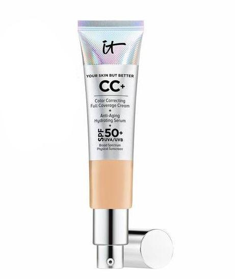"""<p>The holidays can take a toll on you, but you can fight against looking tired AF with the All About Eyes Skincare Set from IT Cosmetics, which will be $18 from 11/22 to 11/25. And if makeup is more your thing, the CC+ Cream will <em>also</em> be discounted, with all itcosmetics.com orders being 20% off over the holiday weekend (promo code: """"ITFRIDAY"""").</p><p>On Cyber Monday, IT Cosmetics customers will get 25% off on $30 or more orders. And if you spend over $70, you'll be gifted a free <a href=""""https://www.itcosmetics.com/award-winners/hello-lashes-5-in-1-mascara/ITC_504.html#gclid=CjwKCAiA8rnfBRB3EiwAhrhBGoKEd8-9N_f1LBdgcgjb-NCh450-m8MSWtJX8vllB62pX_sbcOQlVhoCKqMQAvD_BwE&start=5&cgid=eyes-mascara"""" rel=""""nofollow noopener"""" target=""""_blank"""" data-ylk=""""slk:Hello Lashes Mascara"""" class=""""link rapid-noclick-resp"""">Hello Lashes Mascara</a> (promo code: """"CYBER25""""). But the festivities go well into December as you'll get a free <a href=""""https://www.itcosmetics.com/award-winners/vitality-lip-flush-4-in-1-reviver-lipstick-stain/ITC_0015.html"""" rel=""""nofollow noopener"""" target=""""_blank"""" data-ylk=""""slk:Vitality Flush Lip Stain in Je Ne Sais Quoi"""" class=""""link rapid-noclick-resp"""">Vitality Flush Lip Stain in Je Ne Sais Quoi</a> from 11/28 to 12/2 if you spend over $50 (promo code: """"GIFT4U"""").</p><br><br><strong>It Cosmetics</strong> Your Skin But Better CC+ Cream with SPF 50+, $38, available at <a href=""""https://www.itcosmetics.com/face/foundation/your-skin-but-better-cc-cream-with-spf-50/ITC_0008.htm#locklink"""" rel=""""nofollow noopener"""" target=""""_blank"""" data-ylk=""""slk:It Cosmetics"""" class=""""link rapid-noclick-resp"""">It Cosmetics</a>"""