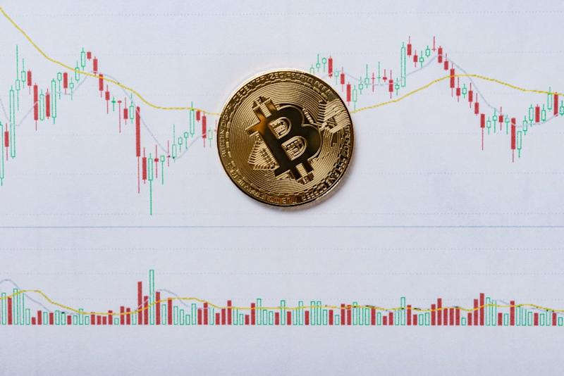 A more sober, conservative approach to investing in bitcoin than considering the all-time high price of bitcoin and its future possibilities is to track bitcoin's yearly price lows. | Source: Shutterstock