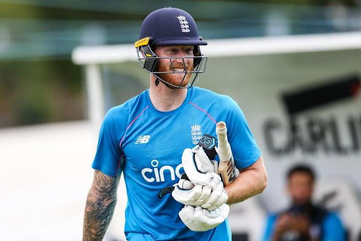 Ben Stokes returned to nets after a second finger surgery (Barrington Coombs/PA) (PA Wire)