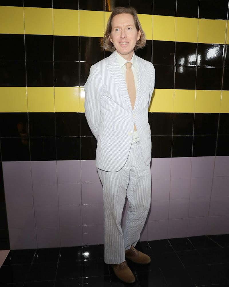 Wes Anderson has been wearing a suit since 1996, and honestly it just keeps getting better.