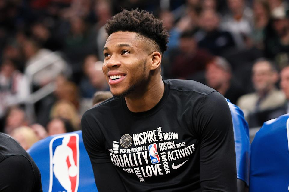 Of course Milwaukee Bucks star Giannis Antetokounmpo was lying about not having access to a basketball hoop.