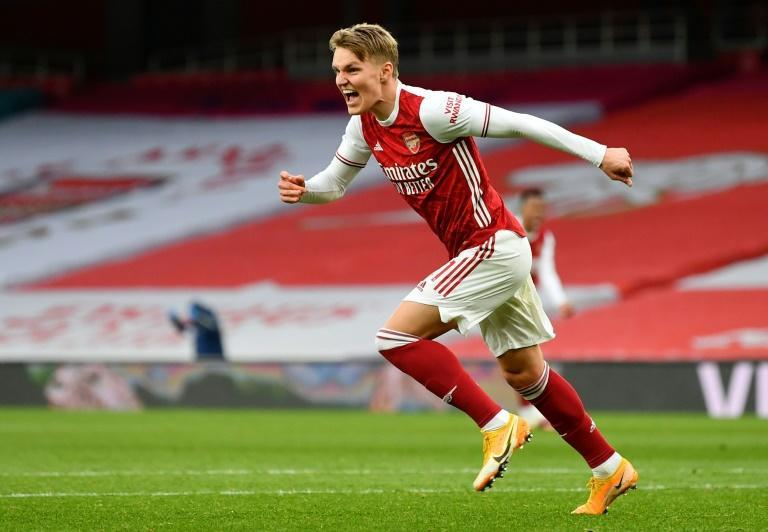 New Gunner: Arsenal signed Martin Odegaard from Real Madrid on Friday