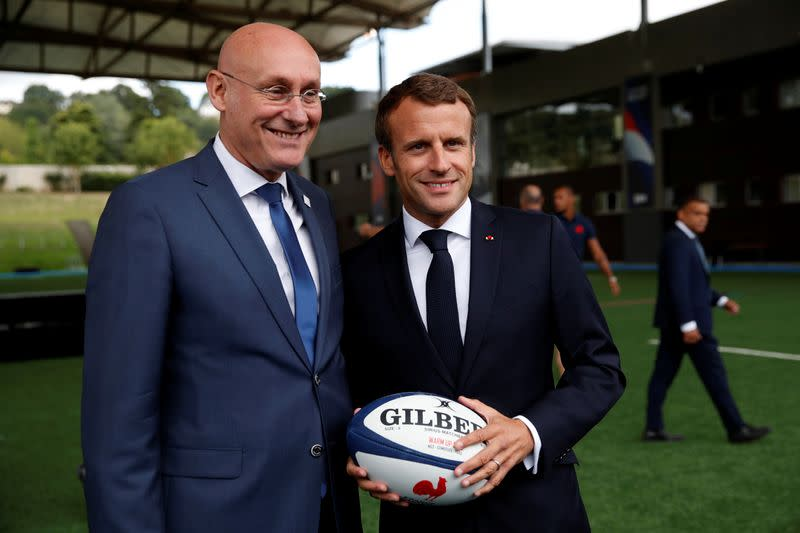 Rugby: French federation head Laporte held for questioning - judicial source