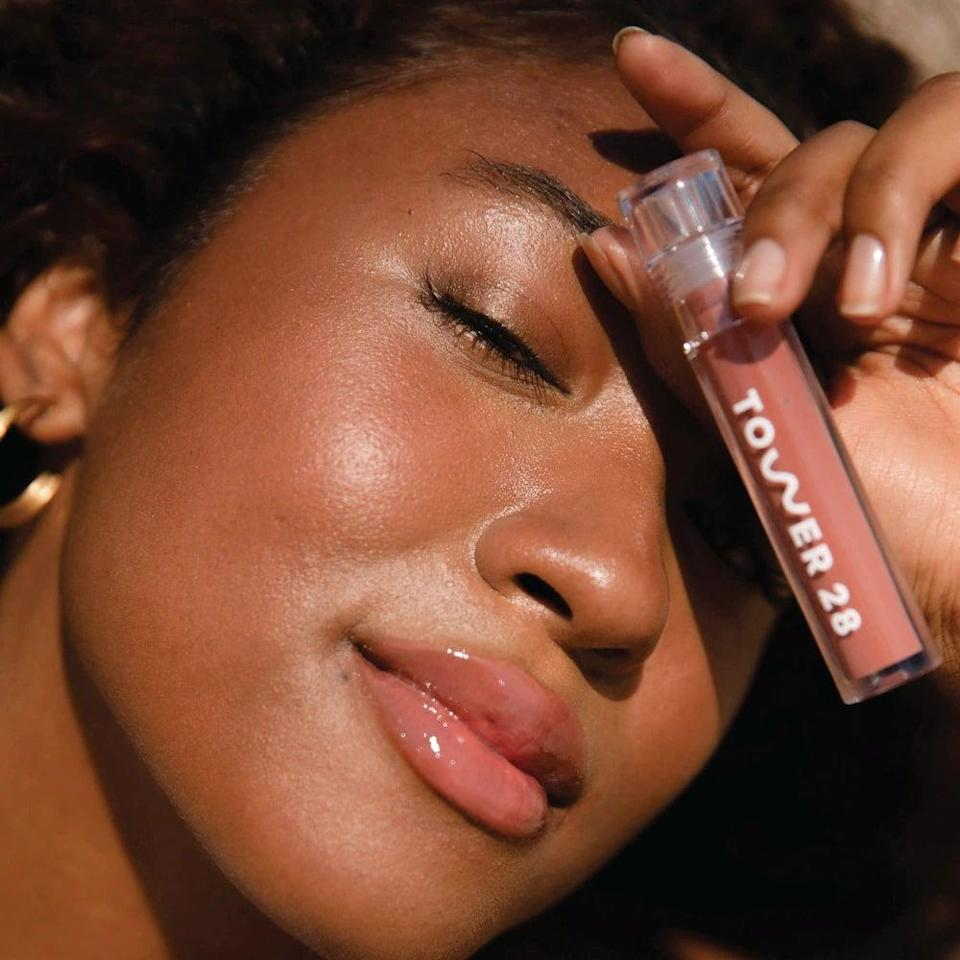 <p>The <span>Tower 28 Beauty Clean ShineOn Jelly Lip Gloss</span> ($14) will not only give you incredibly high-shine color but also leave your lips feeling hydrated and moisturized. It comes in 10 shades ranging from bright pinks, corals, and berrys to neutrals and nudes.</p>