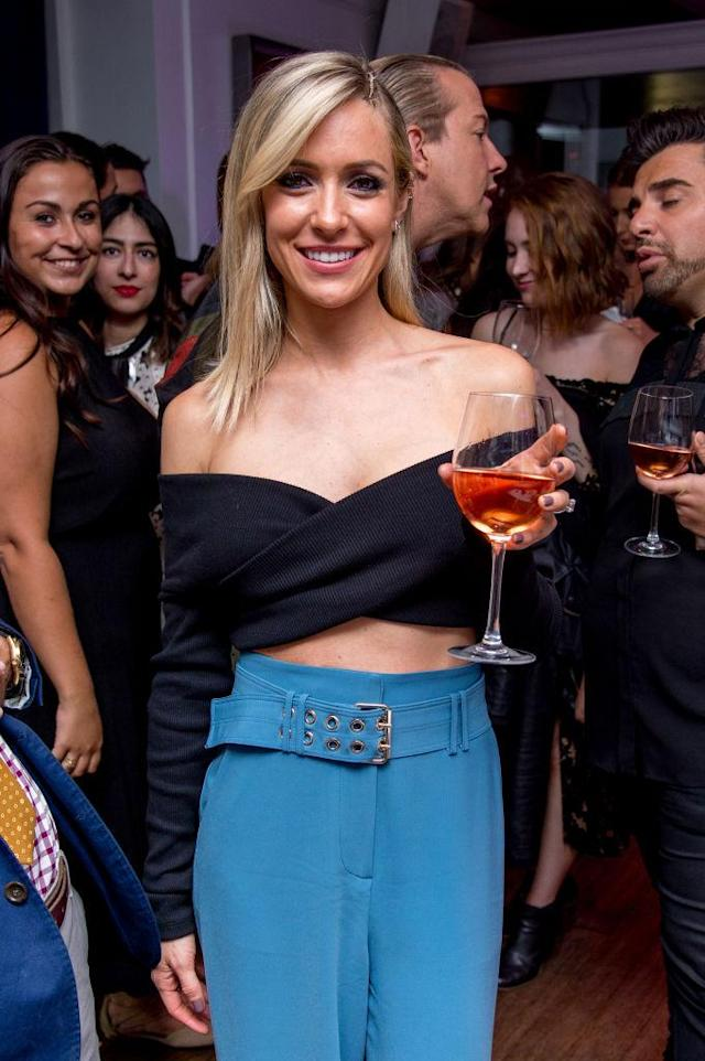 Kristin Cavallari is spilling the tea on a possible reunion of the cast of <em>The Hills</em>. (Photo: Roy Rochlin/Getty Images)