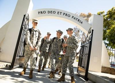 Cadets at Army and Navy Academy enjoy various campus clubs and organizations as well as 11 CIF-sanctioned sports, all of which teach teamwork, fair play, honesty, and other character virtues.
