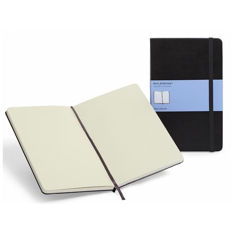 "There are sketchbooks, there are journals, and then there's the Moleskine.&nbsp;Get it for $29.00 at <a href=""https://www.chapters.indigo.ca/en-ca/paper/moleskine-sketchbook-large/9788883701153-item.html"" target=""_blank"" rel=""noopener noreferrer"">Indigo</a>."