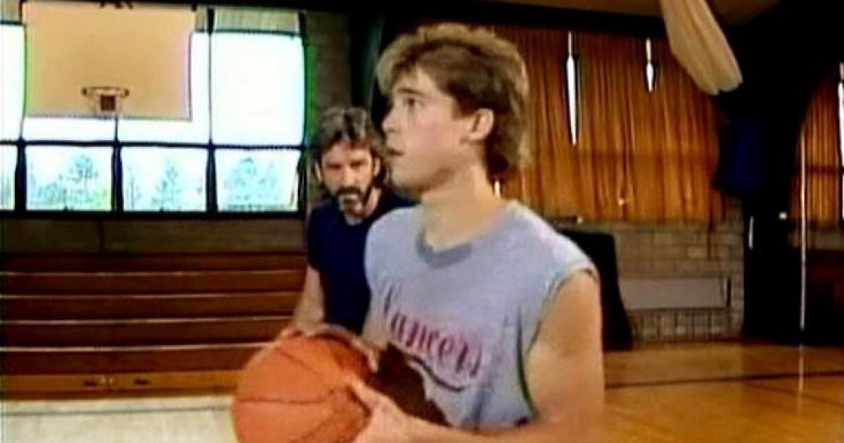 <p>Yep, even Brad Pitt's big break came on daytime TV. Well, maybe not his <em>big</em> break, but he did get his first speaking role on <em>Another World</em>. He played Chris, a young basketball player. (Photo: YouTube) </p>
