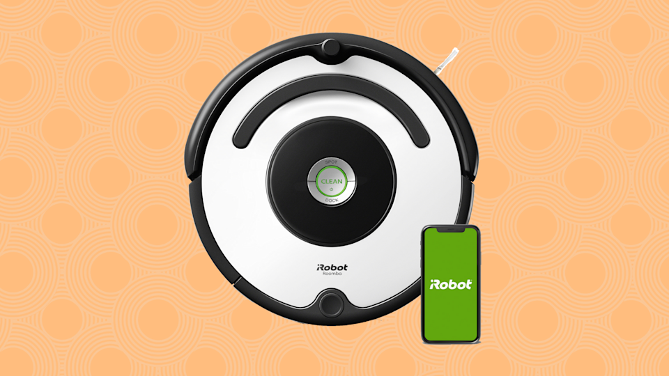 Save $131 on this iRobot Roomba 670 Wi-Fi-connected Robotic Vacuum. (Photo: Walmart)