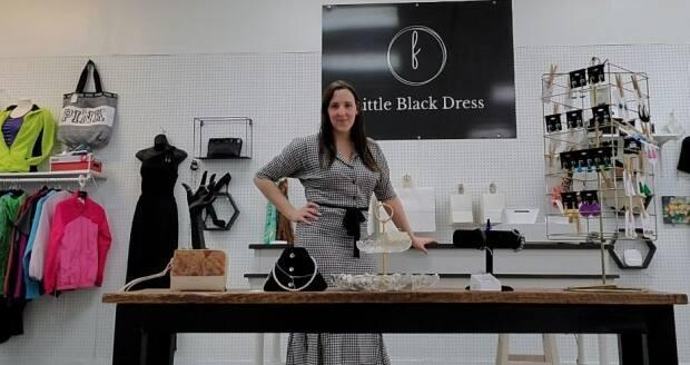 Shawna Perry opened Little Black Dress Co. in Summerside last year to bring consignment clothing to her hometown, and shoppers have embraced what she's selling.