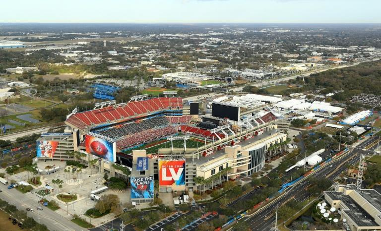 Home sweet home: The Tampa Bay Buccaneers are playing Sunday's Super Bowl at their own Raymond James Stadium