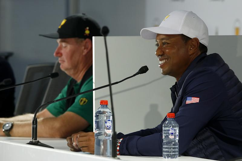 Presidents Cup 2019: The Sunday pairings come out amid slight tension between Tiger & Ernie